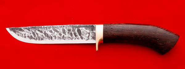 """Охотничий нож """"Олень-2"""" ручная ковка, клинок сталь 9ХС, рукоять венге"""