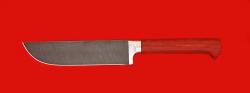 Нож Узбекский, клинок дамасская сталь, рукоять падук