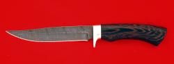 Нож Багира, клинок дамасская сталь, рукоять венге