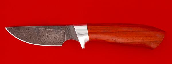 """Нож """"Медвежонок"""", клинок дамасская сталь, рукоять падук"""