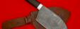 """Нож """"Тяпка старорусская"""", клинок дамасская сталь, рукоять венге"""