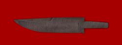 Клинок для ножа Марал, дамасская сталь