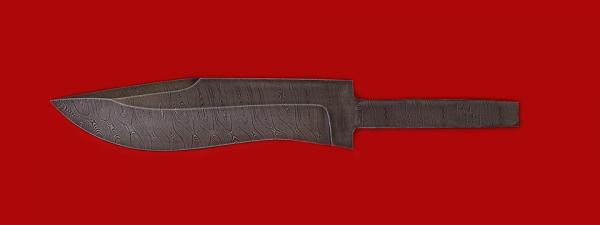 """Клинок для ножа """"Вальдшнеп"""", дамасская сталь"""