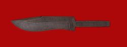 Клинок для ножа Вальдшнеп, дамасская сталь