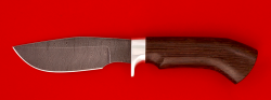 """Нож """"Охотничий"""", клинок дамасская сталь, рукоять венге"""