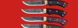 """Нож """"Грибник"""" цельнометаллический, сталь 9ХС, рукоять стабилизированный кап (розовый) с фигурными штифтами"""
