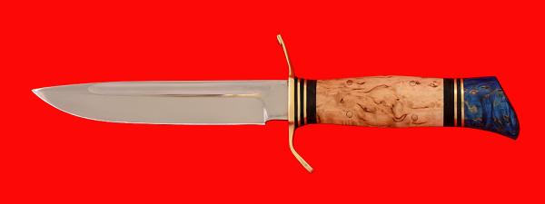 """Реплика """"Финка НКВД"""", клинок кованая сталь 95Х18, рукоять карельская береза"""