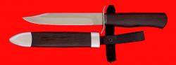 Нож НР-40, клинок сталь У8, рукоять венге, деревянный чехол