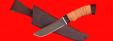 """Нож """"Грибник"""", клинок сталь Х12МФ, рукоять береста"""