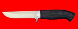 Охотничий нож Финский, клинок сталь 65Х13, рукоять венге