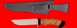 """Охотничий нож """"Грибник-2"""", клинок сталь ELMAX, рукоять береста"""