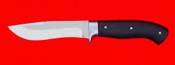 Охотничий нож Вальдшнеп-2, цельнометаллический, клинок сталь 65Х13, рукоять венге