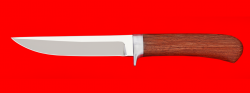 Нож Засапожный №1, клинок сталь 95Х18, рукоять бубинга