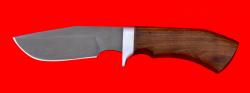 Нож Охотничий, клинок сталь Х12МФ, рукоять орех