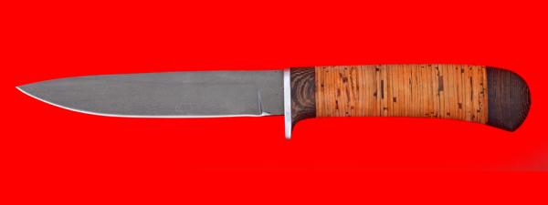 """Нож """"Засапожный №2"""", клинок сталь Х12МФ, рукоять береста"""