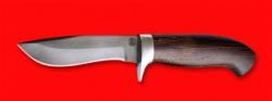 Охотничий нож Вальдшнеп-2, клинок сталь D2, рукоять венге