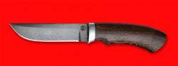 Охотничий нож Грибник, клинок сталь D2, рукоять венге