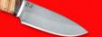 """Охотничий нож """"Соболь"""", клинок сталь D2, рукоять береста"""