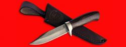 Нож Гюрза, клинок сталь D2, рукоять венге