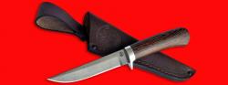 Нож Засапожный №1, клинок сталь D2, рукоять венге