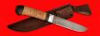 """Нож """"Карачаевский"""" (""""Бычак""""), клинок сталь D2, рукоять береста"""