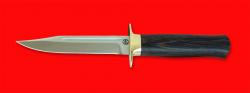 Нож Разведчик, клинок порошковая сталь ELMAX, рукоять венге