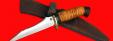 """Нож """"Пират-2"""", клинок порошковая сталь ELMAX, рукоять береста"""