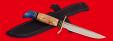 """Реплика """"Финка НКВД"""", клинок порошковая сталь ELMAX, рукоять карельская береза"""