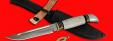 """Разборный нож """"Финка НКВД"""", клинок порошковая сталь ELMAX, рукоять лосиный рог"""