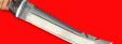 "Нож ""Фарватер"", клинок сталь D2, рукоять береста"