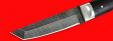 """Нож """"Самурай малый"""", цельнометаллический, клинок дамасская сталь, рукоять венге"""