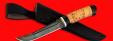 """Нож """"Фарватер"""", клинок дамасская сталь, рукоять береста"""