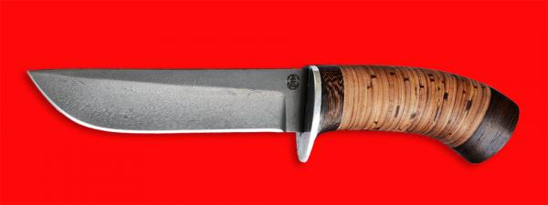 """Нож """"Олень-2"""", клинок сталь D2, рукоять береста"""