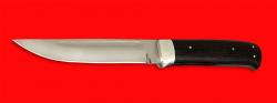 Нож Магадан, цельнометаллический, клинок кованый сталь 95Х18, рукоять венге