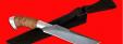 """Нож """"Питон"""", клинок сталь D2, рукоять береста, металл"""