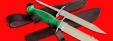 """Нож со сменными клинками на базе НР-43 """"Вишня"""", комплектация """"Рыбак-Турист №3"""", рукоять пластмасса"""