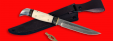 """Разборный нож """"Финка НКВД"""", клинок порошковая сталь Vanadis 10, рукоять лосиный рог"""
