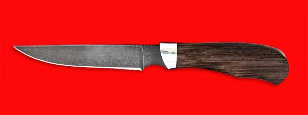 """Нож """"Иртыш"""", клинок дамасская сталь, рукоять венге"""