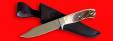 """Нож """"Гюрза"""", цельнометаллический, клинок сталь 95Х18, рукоять лосиный рог"""