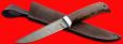 """Нож """"Фартовый"""", клинок дамасская сталь, рукоять венге, с отверстием под темляк (ремешок)"""