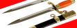 """""""Кортик офицерский военно-морской ВМФ СССР"""", разборный, образца 1945 года, рукоять пластмасса"""