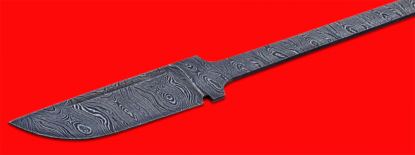 """Клинок для ножа """"Викинг малый"""", клинок дамасская сталь"""
