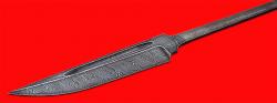 """Клинок для ножа """"Норвежский"""", клинок дамасская сталь"""