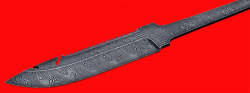 Клинок для ножа Рыбацкий, клинок дамасская сталь
