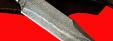 """Нож """"Промысловый большой"""", клинок тигельный булат, рукоять карбон"""