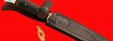 """Разборный нож """"Финка НКВД"""", клинок порошковая сталь ELMAX, рукоять карбон"""