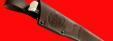 """Нож """"Альбатрос"""", цельнометаллический, клинок дамасская сталь, рукоять венге"""