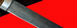 """Булатный нож """"Пареньский"""", клинок тигельный булат, рукоять стабилизированная карельская берёза (цвет натуральный)"""