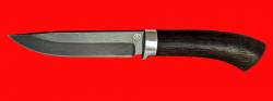 Охотничий нож Браконьер, клинок сталь D2, рукоять венге