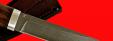 """Охотничий нож """"Северный-3"""", клинок тигельный нержавеющий композит (нержавеющий булат), рукоять орех"""